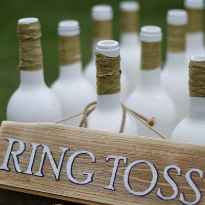 Rustic Ring Toss/ outdoor game to hire - Rock the Day