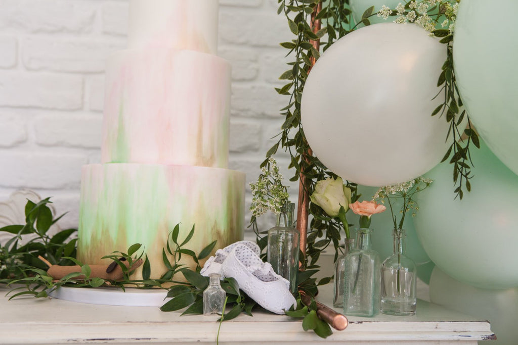 MINT AND PEACH BABY - Baby Shower Styled Package and Photography Coverage