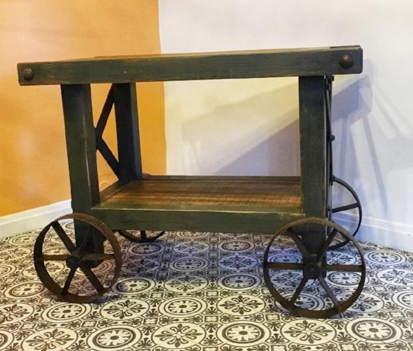 Industrial Rustic Cart/Trolley