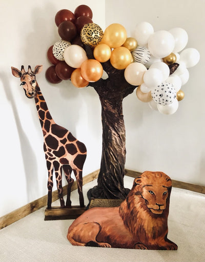 Safari themed party package | Party prop hire | Event styling Essex | Rock the Day