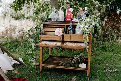 Drinking trolley for hire by Rock the Day in Essex