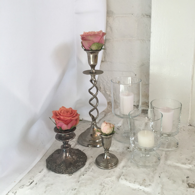 Metal Candlesticks | Prop Hire Essex | prop and decor hire  Rock The Day