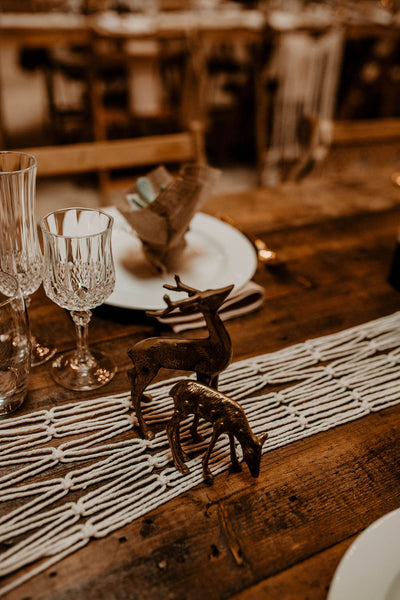 Brass Animals for hire |  Rock the Day | party styling | props to hire | table and chair decor London