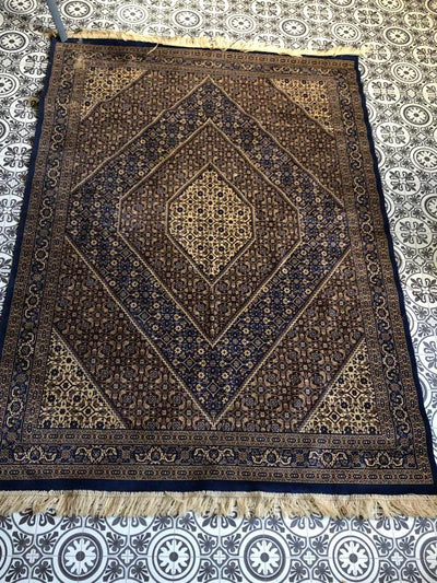 Small Persian style rug for hire by Rock the Day, Essex