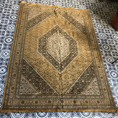 Persian style rug for hire by Rock the Day, Essex