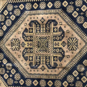 Small Blue Rug