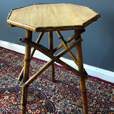 Vintage Bamboo Table for hire | Rock The Day | wedding hire | event hire | perty props