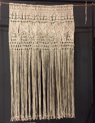 Macrame backdrop for hire | Rock The Day | Bespoke Props | Prop Hire Essex