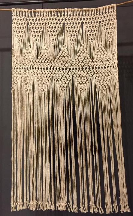 Macrame Backdrop #106