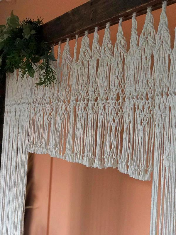 Macrame Backdrop #107