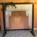 Macrame Backdrop #108