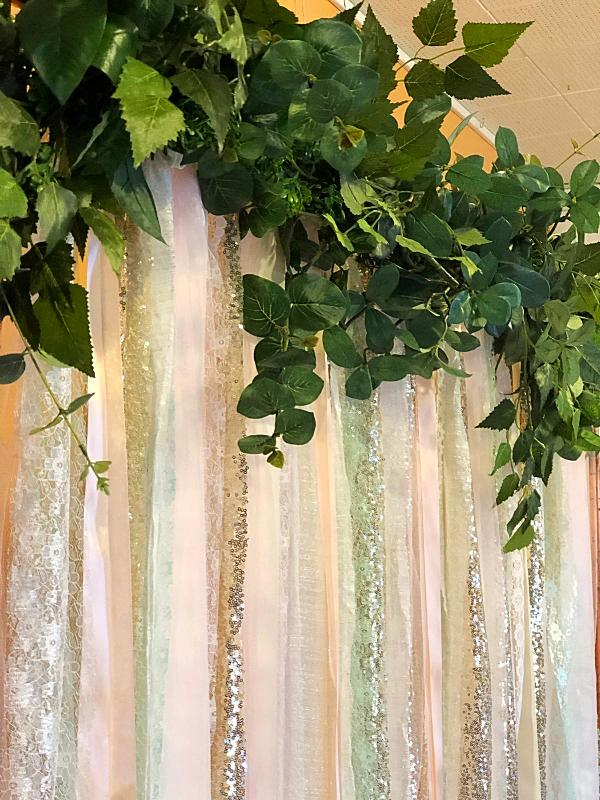 Pastel Ribbon Backdrop
