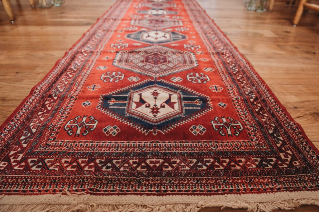 Long Red Runner Rug