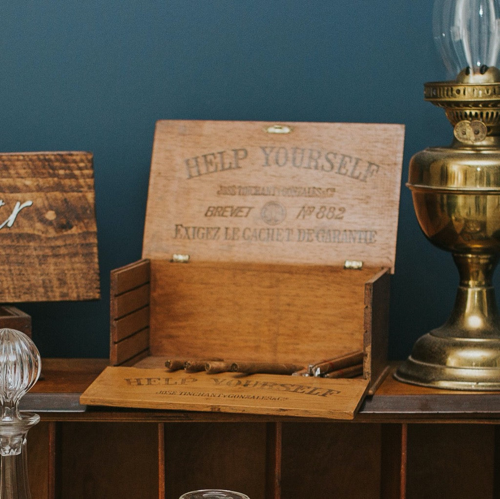 Vintage Wooden Boxes - Rock the Day Styling