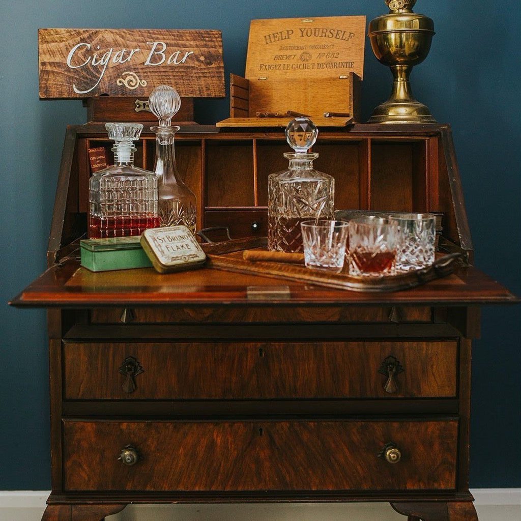 Vintage Bureau | Prop Hire Essex | Rock the Day Wedding Styling