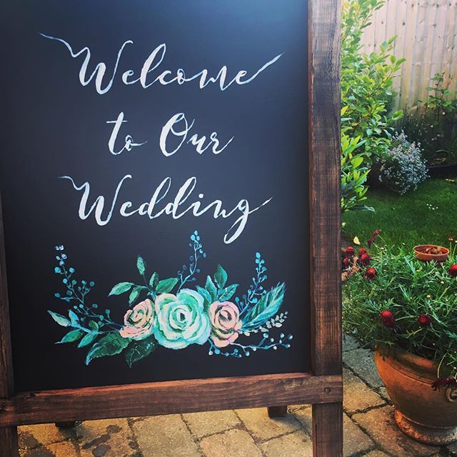 Frame Boards | Prop Hire Essex | Rock The Day Wedding Styling