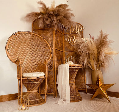 Boho Baby Shower package | Prop hire Essex | Event Styling | Rock the Day