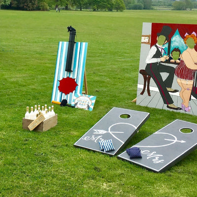 Outdoor game packege, splat the rat, peep board, ringtoss available for hire in Essex, London, Hertfordshire