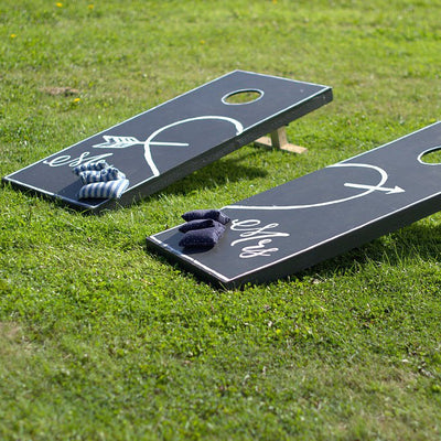 Bean Bag Toss | Rock the Day Wedding Styling