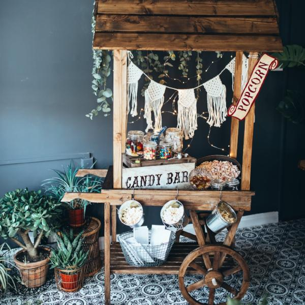 Rustic Sweet Cart