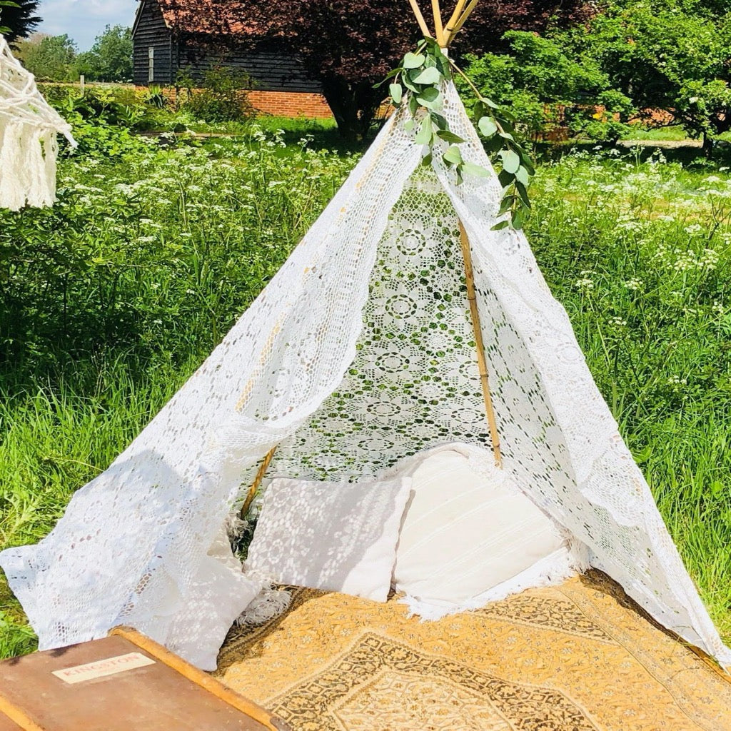 Lace Tepee - Chillout Area Package