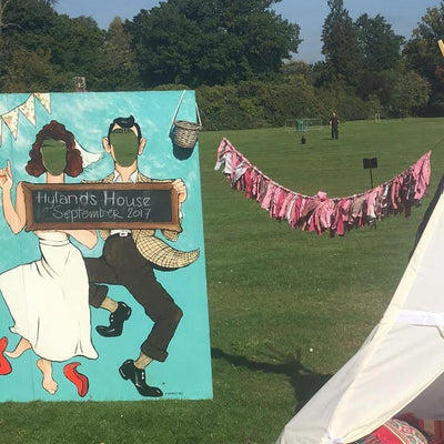 Peepboards hire | Rock the Day Wedding Styling Essex