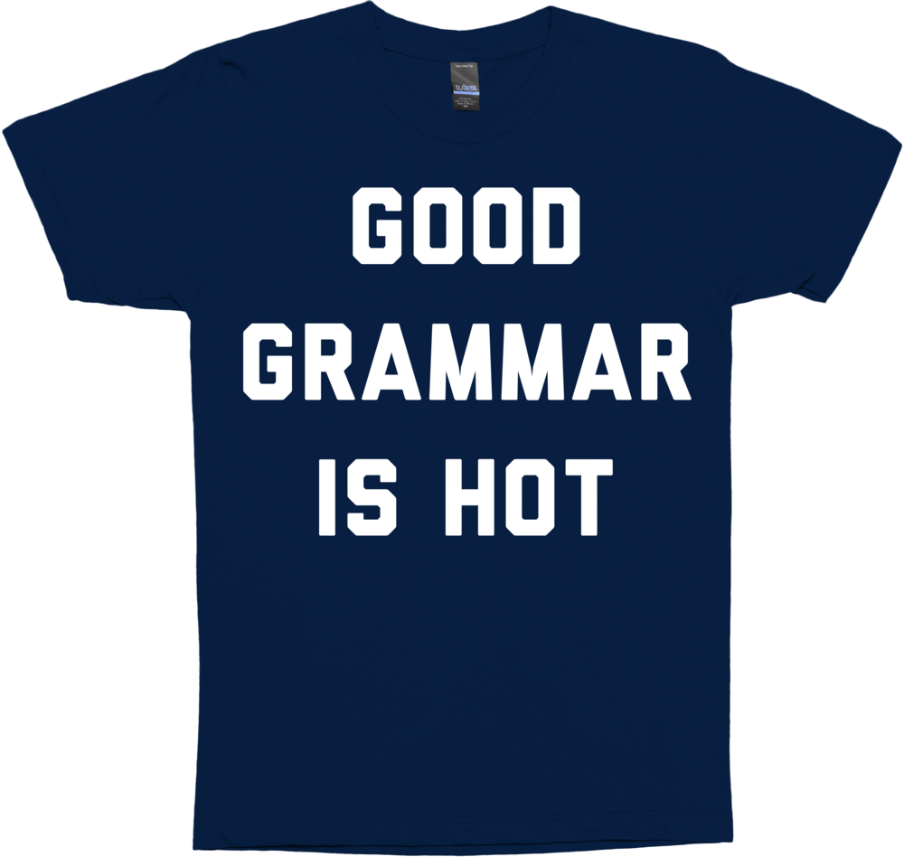 Good Grammar is Hot