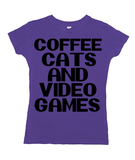 Coffee, Cats and Video Games