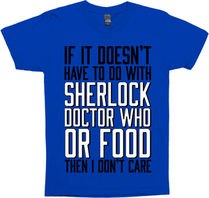 Sherlock, Doctor Who and Food