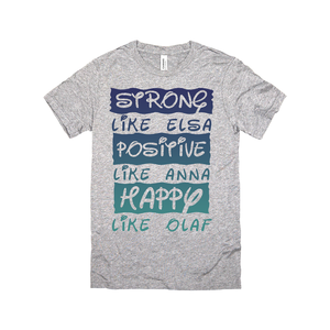 Strong, Positive and Happy