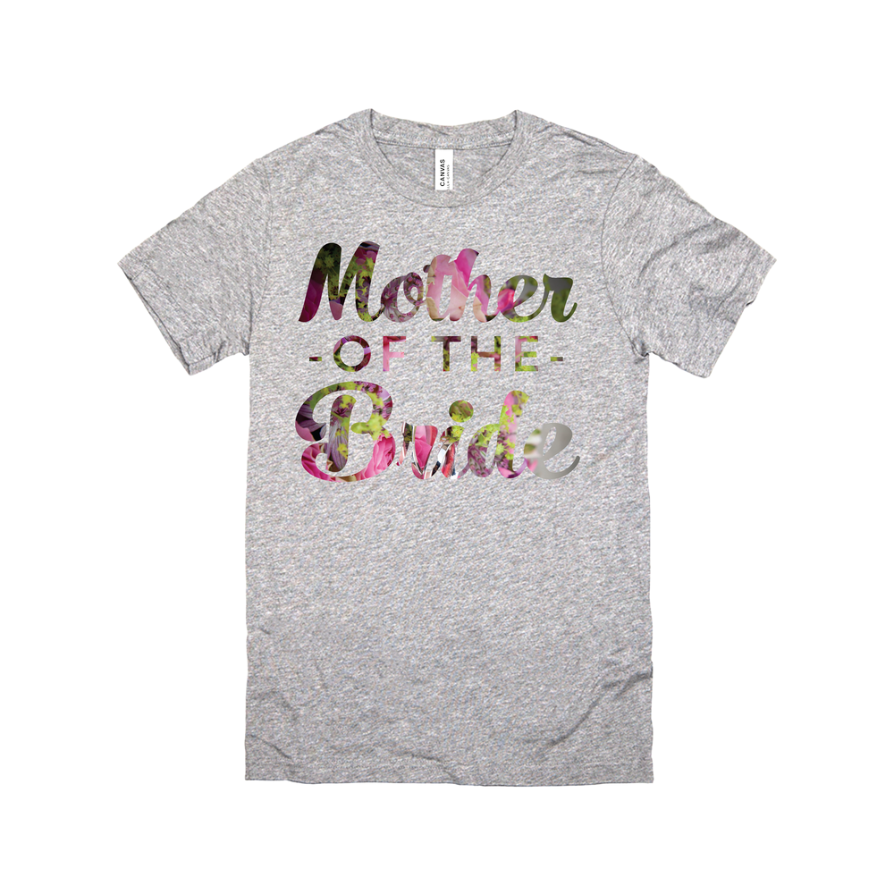 Floral Mother of the Bride (Wedding Party Group designs)