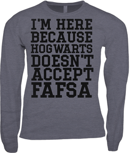 Don't Accept FASFA