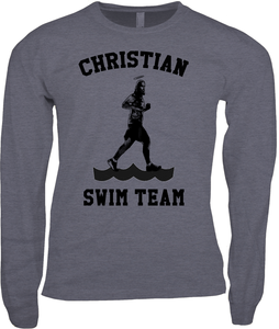 Christian Running: Jesus Swim Team