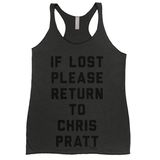 If Lost Please Return to Chris Pratt