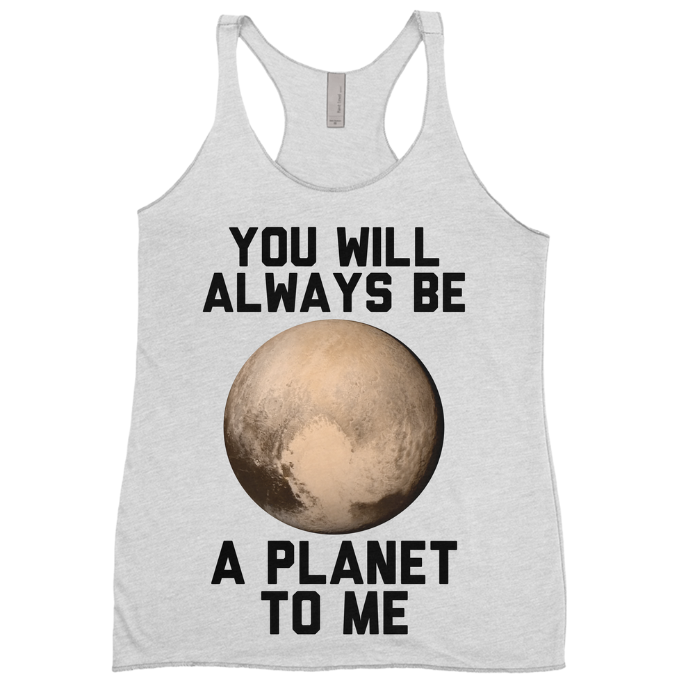 Pluto, You'll Always Be A Planet To Me