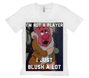 I'm Not a Player I Just Blush a Lot