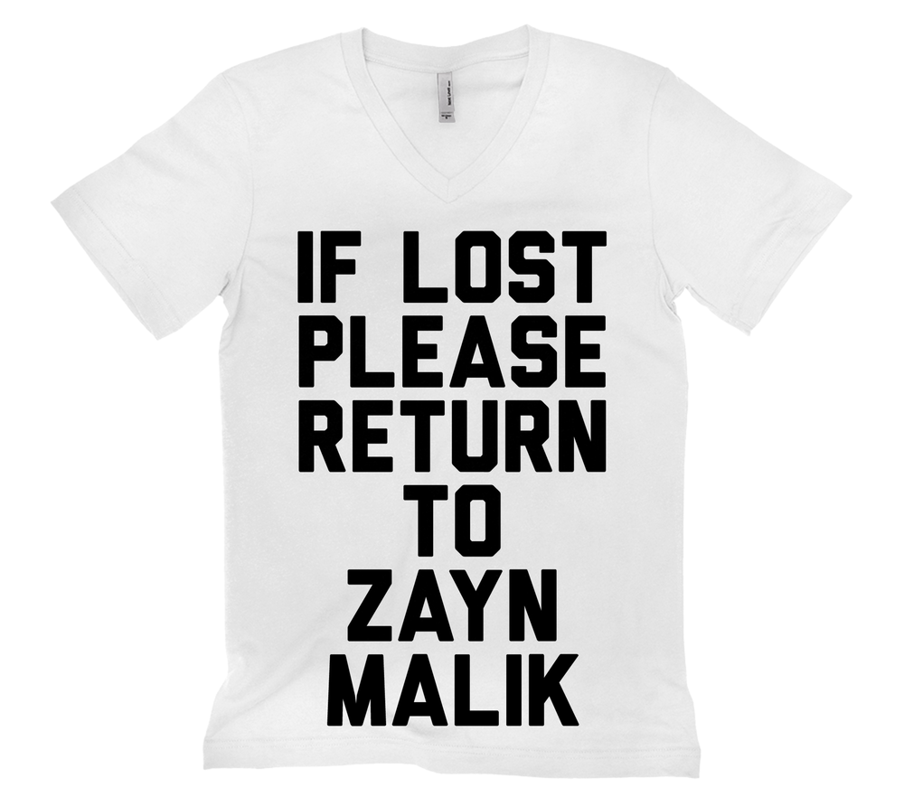 If Lost Please Return to Zayn Malik