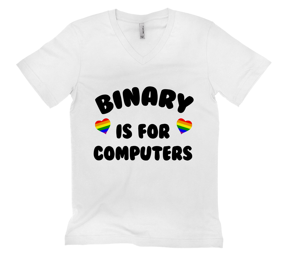 LGBTQ Binary Is For Computers