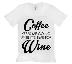 Coffee And Then Wine
