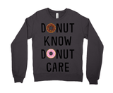 Donut Know, Donut Care