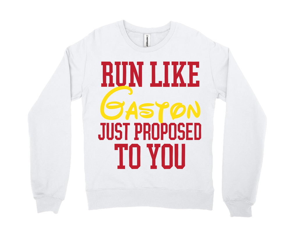 Run Like Gaston Just Proposed To You