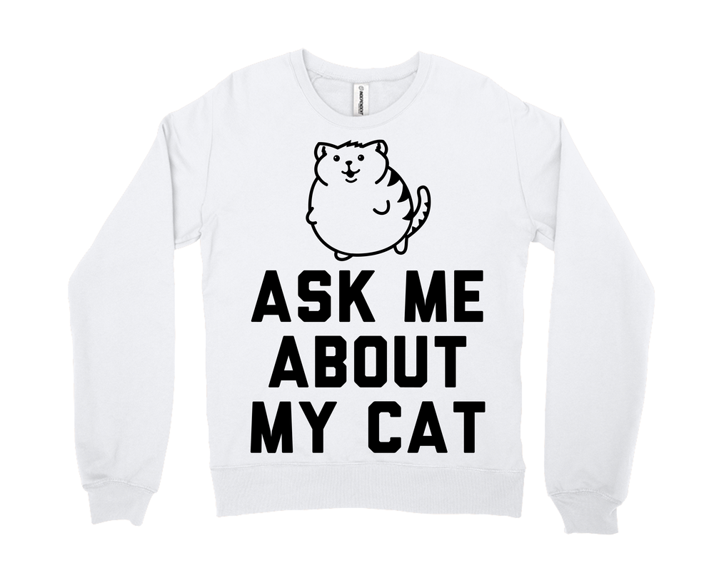 Ask Me About My Cat