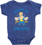 Working Out For The Apocalypse With Vault Boy (dark)
