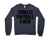 Cuddles, Football, and Beer