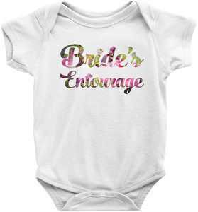 Floral Bride's Entourage (Wedding Party Group designs)