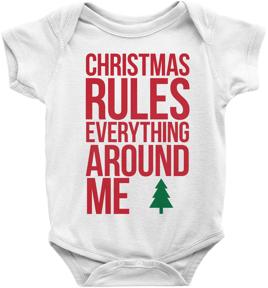 Christmas Rules Everything Around Me CREAM Parody design