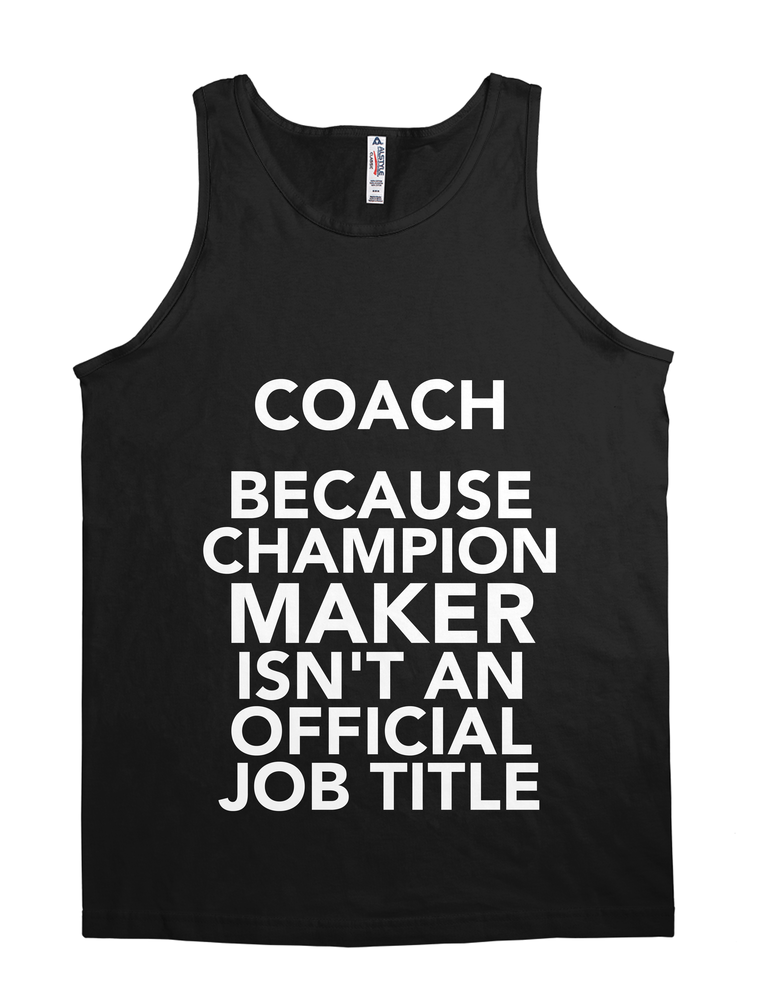 Coach Because Champion Maker