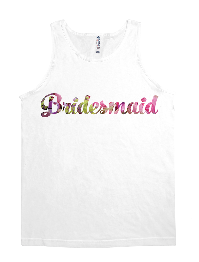 Floral Bridesmaid (Wedding Party Group designs)