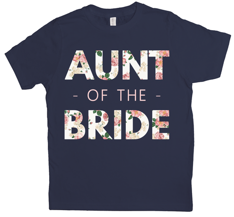 Floral Aunt of the Bride (Wedding Party Group designs)