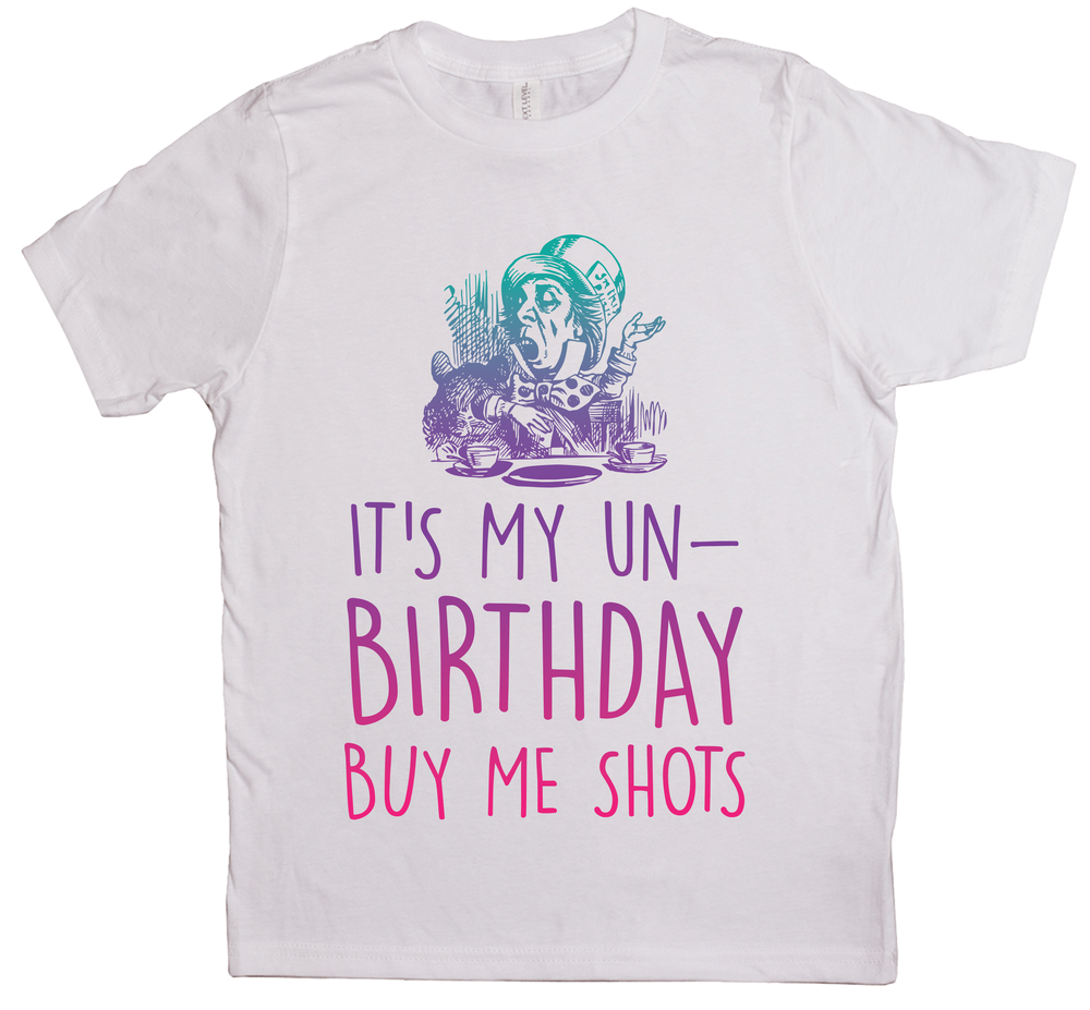 It's My Unbirthday, Buy Me Shots (Color)
